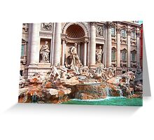 Trevi Fountain III Greeting Card