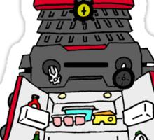 dalek -refrigerate Sticker