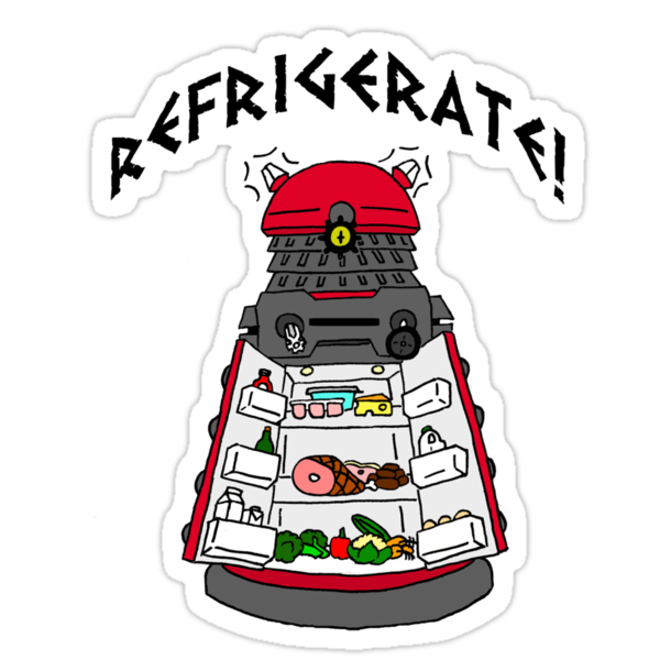 dalek -refrigerate by jammywho21