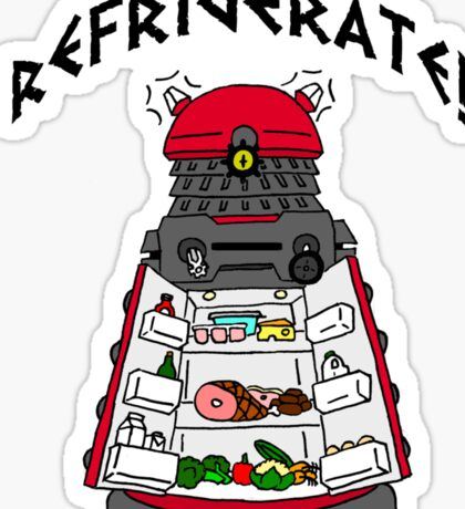 dalek -refrigerate Sticker