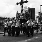Madonna Del Rosario procession, Manchester, England. by Andy Kilmartin