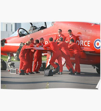 red arrows Poster
