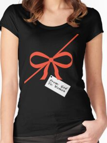 God's Gift To Women Tee Women's Fitted Scoop T-Shirt
