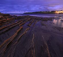 Night Ocean Lights by Anton Gorlin
