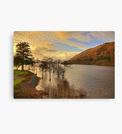 Loch Tay View Canvas Print