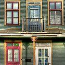 A full house by Elisabeth van Eyken