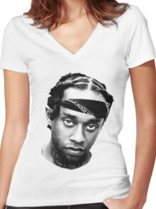 Ty Dolla Sign  Women's Fitted V-Neck T-Shirt