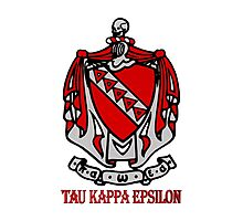 TKE - Coat of Arms Photographic Print