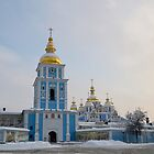 St. Michael's Golden-Domed Monastery by Anton Gorlin