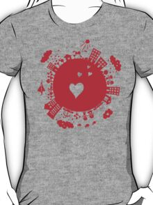 planet in love T-Shirt