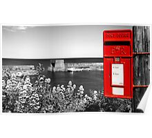 Red Post Box Poster