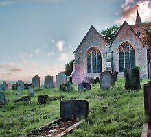 St Michael's Church East Peckham by Dave Godden
