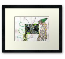 physical reality Framed Print