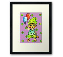 in party mood Framed Print
