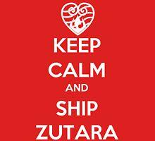 Keep Calm and Ship Zutara! Unisex T-Shirt
