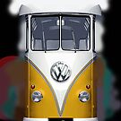Yellow Volkswagen VW iphone 5, iphone 4 4s, iPhone 3Gs, iPod Touch 4g case by pointsalestore Corps
