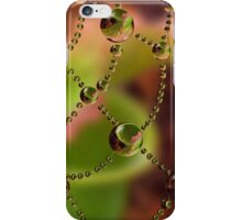 Pitcher Plant Web Drops iPhone Case/Skin