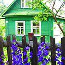 Meadow Green Dacha at Kartashevskaya by M-EK
