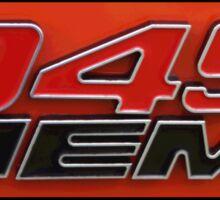 345 HEMI TeeShirt Sticker
