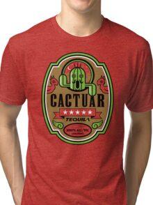 CACTUAR TEQUILA Tri-blend T-Shirt