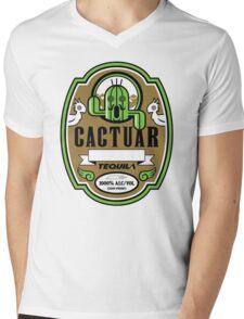 CACTUAR TEQUILA Mens V-Neck T-Shirt