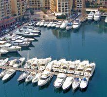 Monaco Marina Sticker