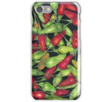 Chilly Harvest 1 (coloured pencils) iPhone Case/Skin