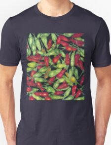 Chilly Harvest (coloured pencils) T-Shirt