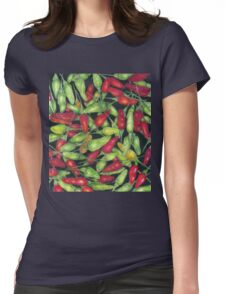 Chilly Harvest 1 (coloured pencils) Womens Fitted T-Shirt
