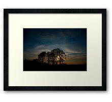 Woodborough Hill, Wiltshire Framed Print