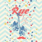 Rue La La: Summer Star by KustomByKris