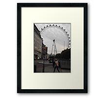 London Eye/(1 of 5) -(050712)- digital photo Framed Print