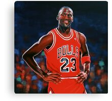 Michael Jordan painting Canvas Print