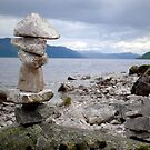 Loch Ness Cairn by triciamary
