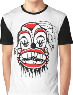 Dark Clown Drawing Graphic T-Shirt