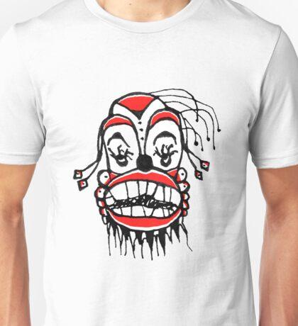 Dark Clown Drawing Unisex T-Shirt