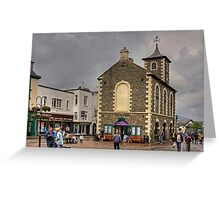 Keswick Market Square Greeting Card