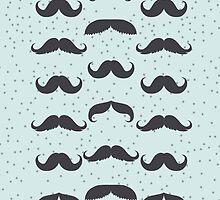 Mustachey iPhone/iPod Case by David & Kristine Masterson