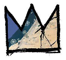"Basquiat ""King of Dubai UAE"" Photographic Print"