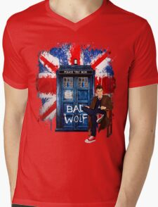 The King Of All Doctor Mens V-Neck T-Shirt