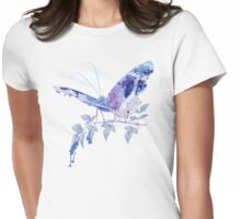 butterfly ink Womens Fitted T-Shirt