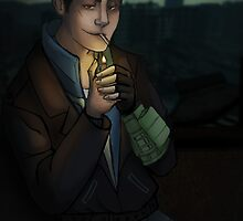 Fallout: Butch in Rivet City by silk-sutures