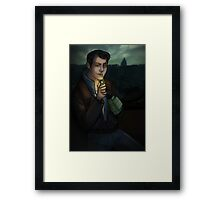 Butch in Rivet City Framed Print