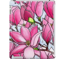 Spring Delight ~ Rose Magnolias iPad Case/Skin
