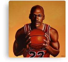 Michael Jordan painting 2 Canvas Print