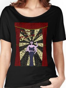 The Spider Lady Takes The Stage Women's Relaxed Fit T-Shirt