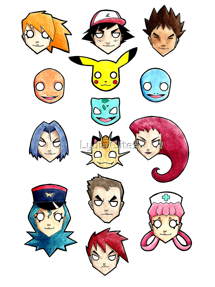 Pokemon Gang by Lydia Clites