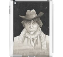 The 4th Doctor Tom Baker iPad Case/Skin
