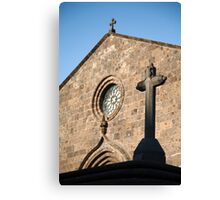 Church in Azores islands Canvas Print