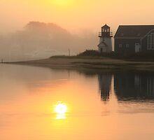 Misty Morning by Roupen  Baker